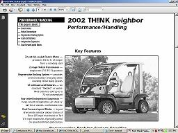 2002 Ford Think Neighbor - the best NEV around